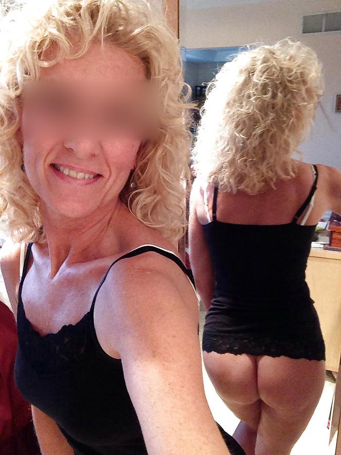 Blonde chaude du jour