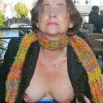 Cécile, vieille chaudasse cherche jeune amant régulier à Chantilly
